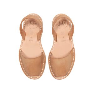 Load image into Gallery viewer, FLATFORM - ESPADRILLE NUBUCK TAN
