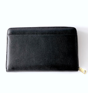 Load image into Gallery viewer, LULU LUXE - ARIA BLACK WALLET