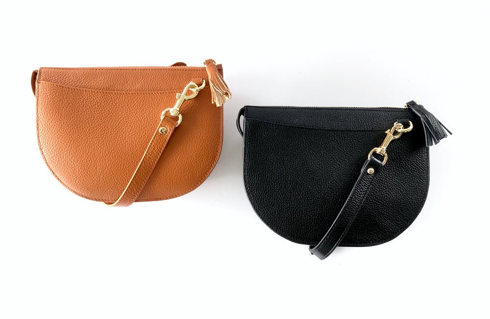 LULU LUXE - HARPER CROSSBODY BAG TAN