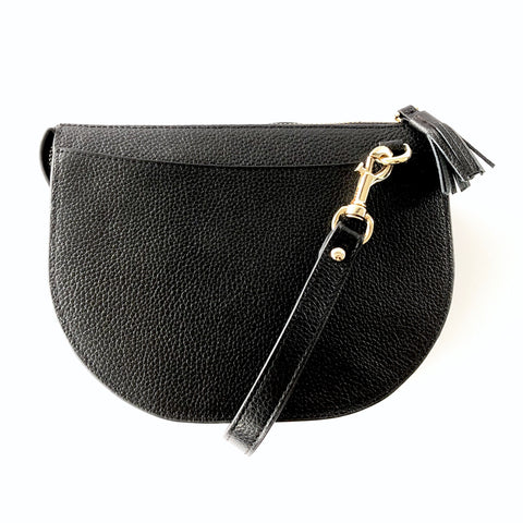 LULU LUXE - HARPER CROSSBODY BAG BLACK