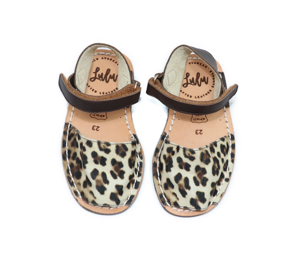 Load image into Gallery viewer, MINI LULUS - LEOPARD/CHOCOLATE