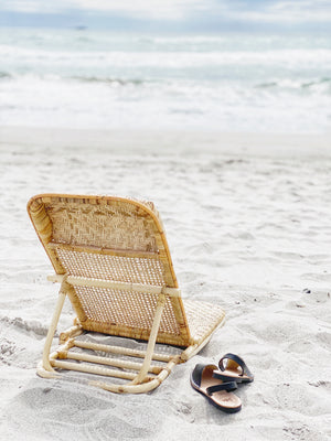 Load image into Gallery viewer, LULU LUXE COASTAL - RIO RATTAN SUN LOUNGER