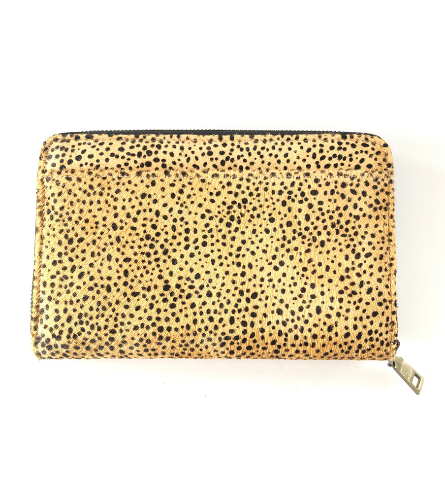 Load image into Gallery viewer, LULU LUXE - ARIA CHEETAH WALLET