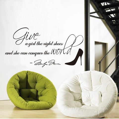 Shoes Wall Sticker Stickers [4923112836]