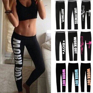 [9 COLORS] HOT!! 2015 Women Work Out Yoga/Sport Pants,Sweatpants/Capris,Sportswear,Fitness Punk Leggings,Gym/Running Pants,WorkOut Leggings