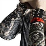 Lots 6 Pcs Temporary Fake Slip On Tattoo Arm Sleeves Kit = 1645607684