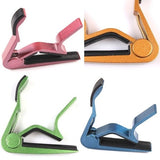 Universal Chic Acoustic Electric Tune Quick Change Trigger Guitar Capo Key Clamp = 1645720772