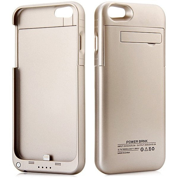 3200mAh Backup Power Battery Bank Case with Stand for iPhone 6 = 1841738052