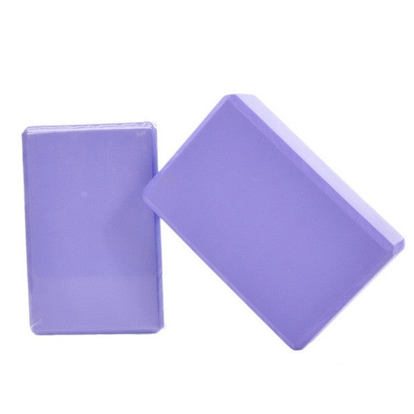2Pcs Yoga Props Foam Foaming Block Brick Home Health Gym Sport Tool = 1705540356