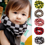 2014 Children's Plaid Muffler Autumn&Winter Warm Scarf Baby Boy/Girls Knitted O-Scarf Kids Warmer Neck Bib Scarves = 1957842116