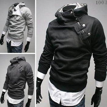 2015 NEW Hot High Collar Men's Jackets ,Men's Sweatshirt,Dust Coat ,Hoodies Clothes,cotton = 1747743940