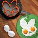 Rabbit Head Shaped Silicone Egg Mold Omelet Creative Fried Egg Molds Cooking Molds Ring Kitchen Tool = 1645723972