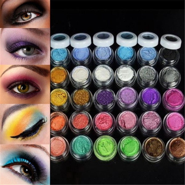 30 Colors Eye Shadow Powder New Arrival Colorful Makeup Mineral Eyeshadow Fashion Drop = 1741721732