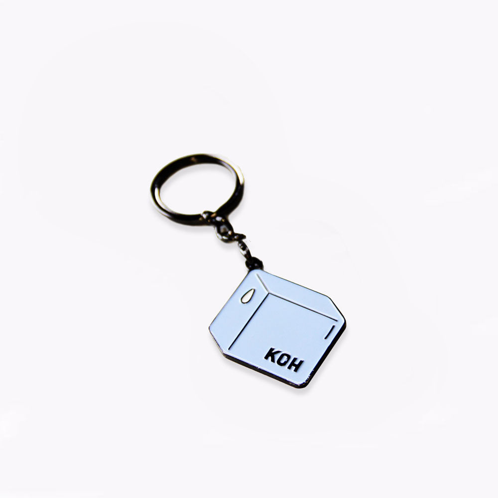 Koh - Badge Keychain