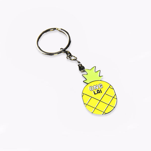 Ong - Badge Keychain