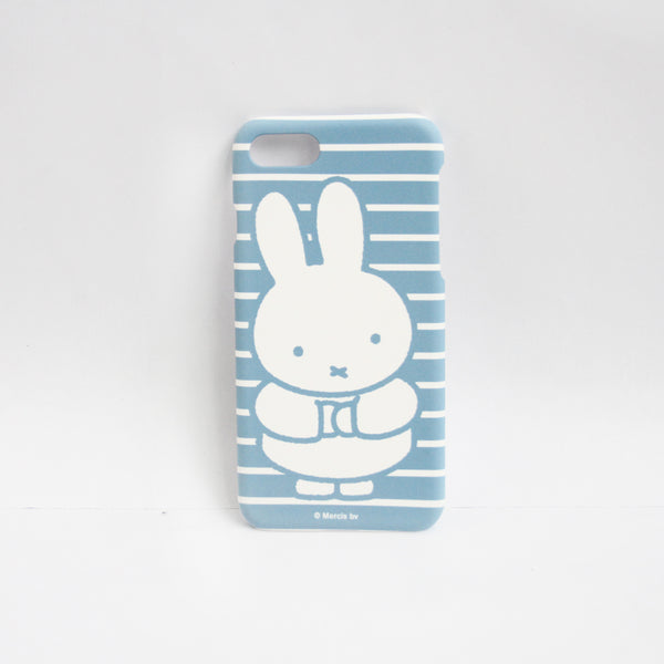 Miffy Blue Stripes Phone Case