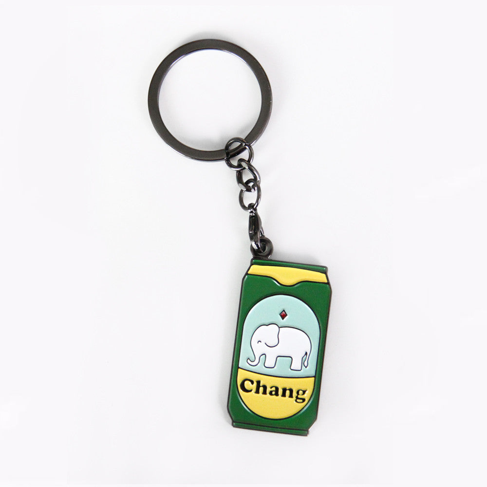 Chang - Badge Keychain