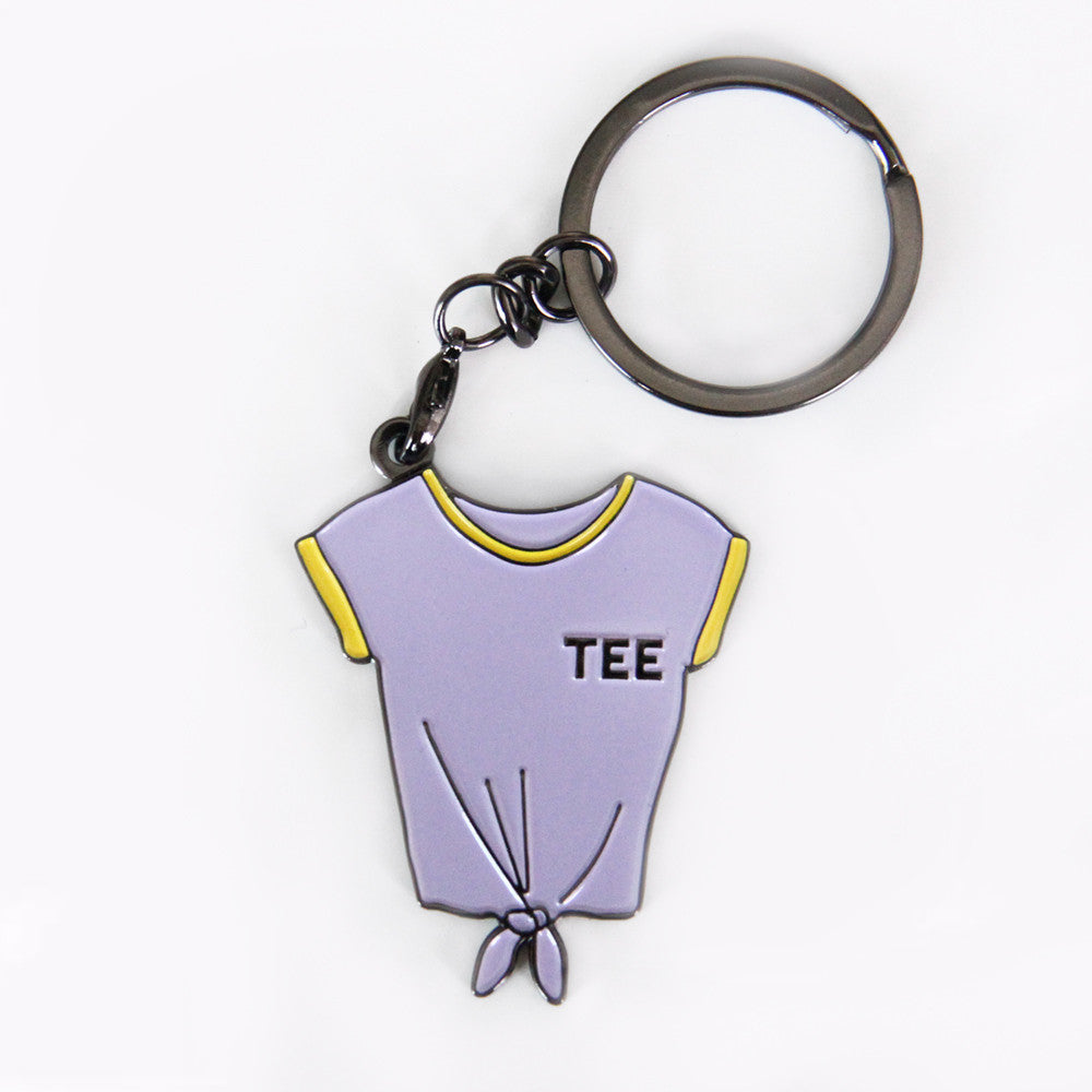 Tee - Badge Keychain
