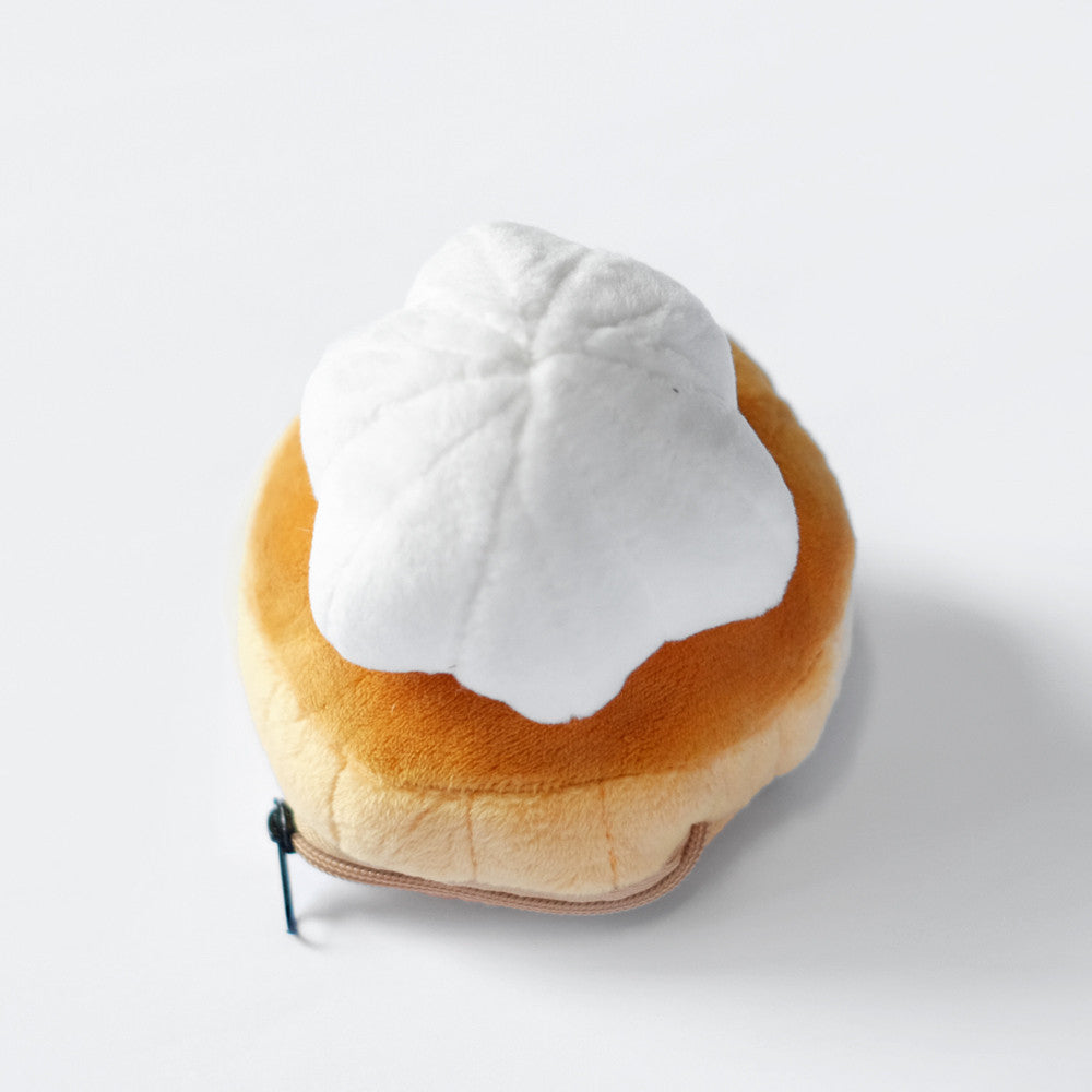 White Gem Biscuit Coin Pouch