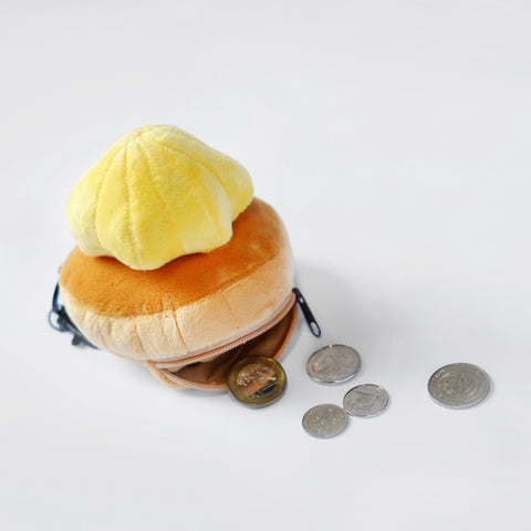Yellow Gem Biscuit Coin Pouch