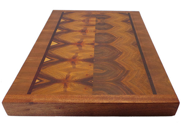 Butcher Block Workbench >> Canary Wood - End Grain Cutting Board – Willie Workbench