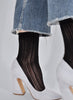 Klara Knit Socks - Black