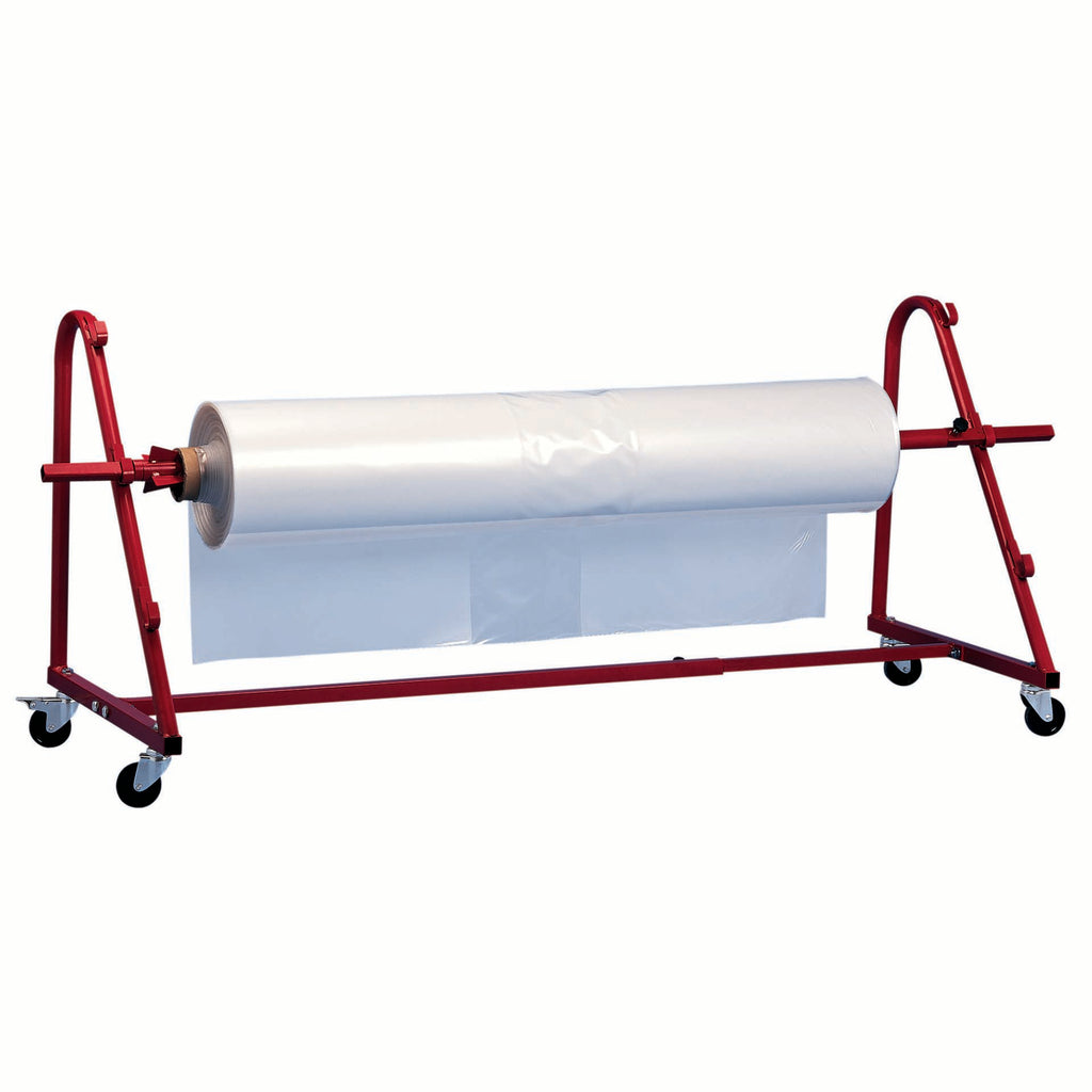 scaffold shrink wrap roll stand