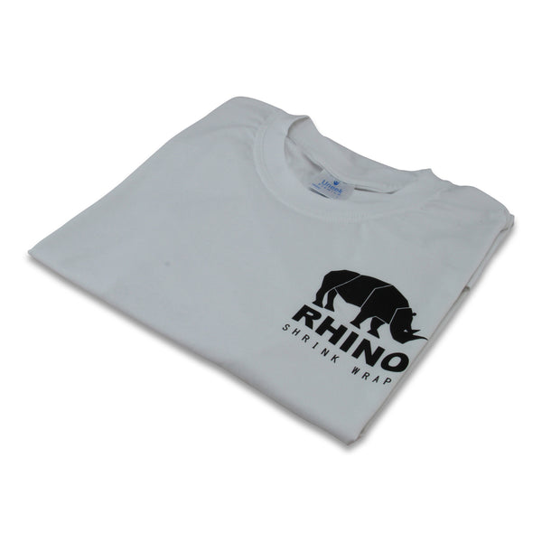 rhino short sleeve t-shirt white