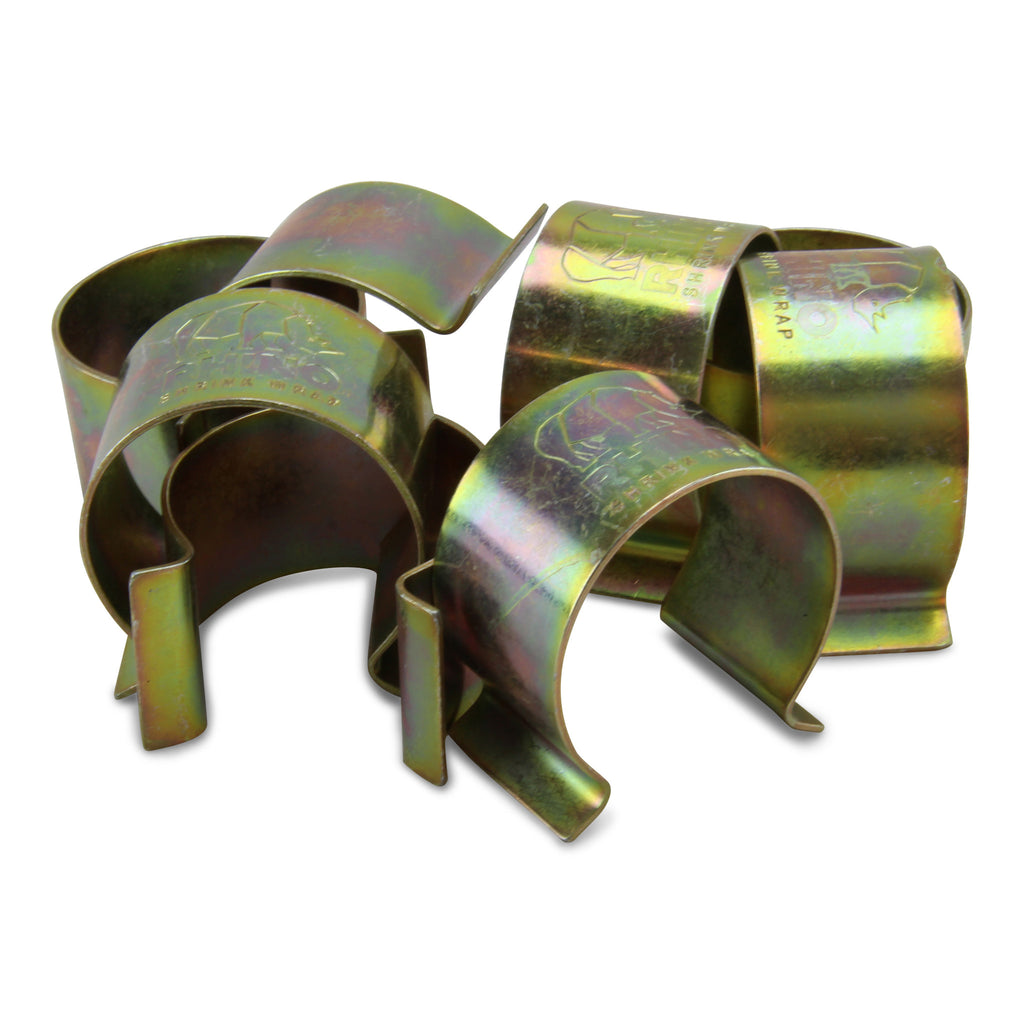 close up scaffold shrink wrap clips