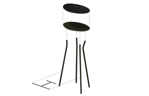 Perret Stool | Tall - Atelier Jones Design