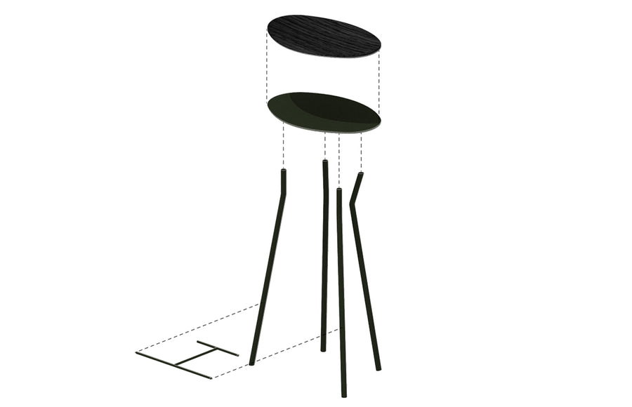 Perret Stool | Tall