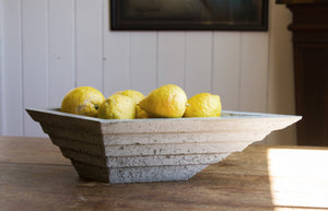 Terraced Concrete Bowl - AtelierJones