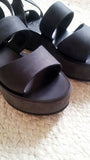 Althaia Black - sandals- arpyes