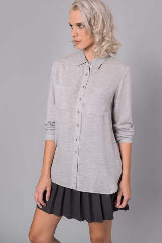 Light Grey Shirt - Shirt- arpyes
