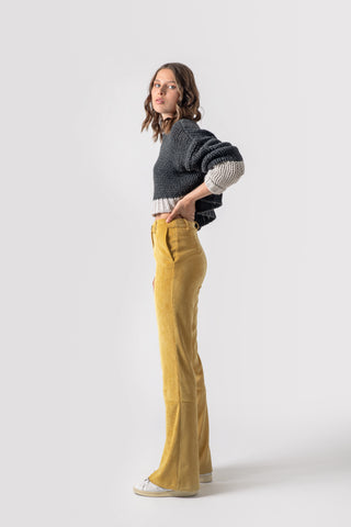 Corazon Pants Yellow - pants- arpyes