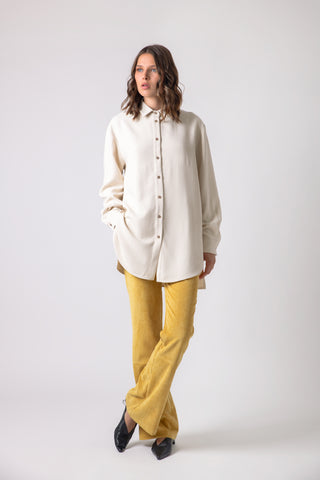 Poblana Shirt/Dress off-white & black - Shirt- arpyes