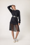 Guino  Sweatshirt/dress - sweater- arpyes