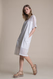 Paneled Viscose Dress - Dress- arpyes