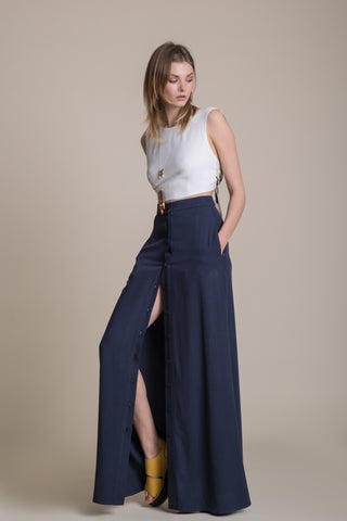 Long Buttoned Skirt - - arpyes