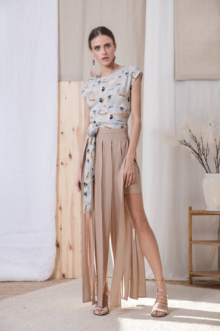 Los Angeles skirt beige - Skirt- arpyes
