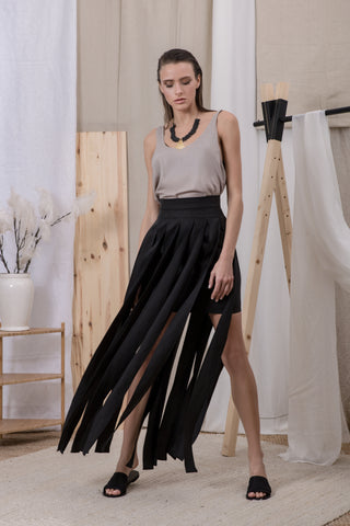 Los Angeles Skirt Black - Skirt- arpyes