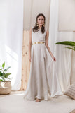Latvia Linen Dress - Dress- arpyes