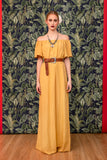 Tookie Dress Yellow - kaftan- arpyes