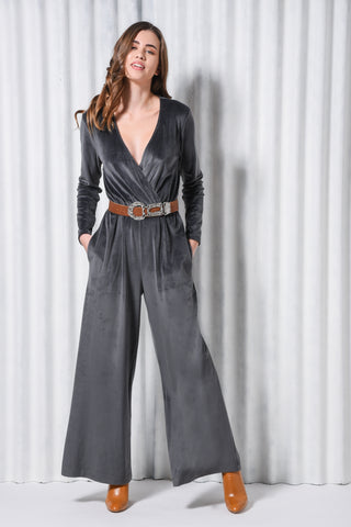 RUBY JUMPSUIT DARK GREY