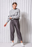 CITRINE PANTS GREY - NIGHT BLUE - SILVER GREY