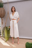 Old Fashioned Culottes White - pants- arpyes