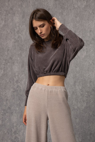 Patti Top Gray - top- arpyes