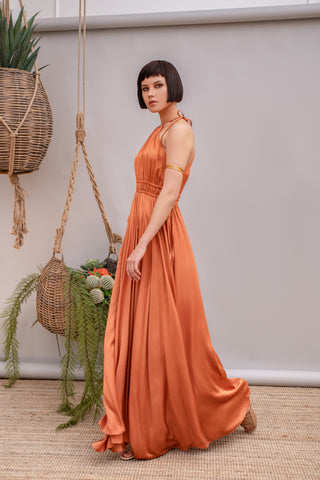 Cantarito Terracotta Dress - Dress- arpyes