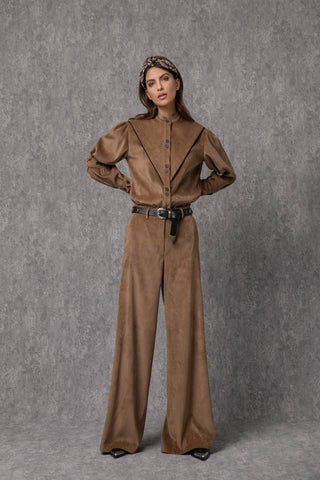 Iman Pants Brown - pants- arpyes