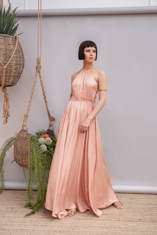 Cantarito Light Pink Dress - Dress- arpyes
